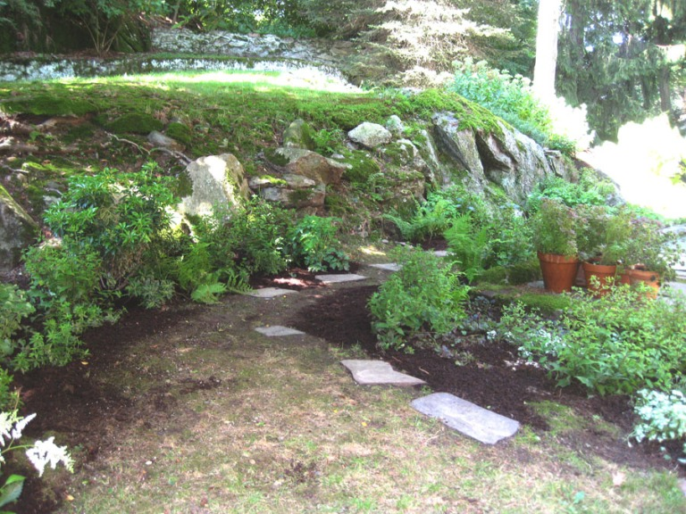 Brookline Puddingstone Garden 2